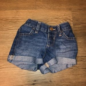 6-9 months Jean Shorts -  NEW w/o tags